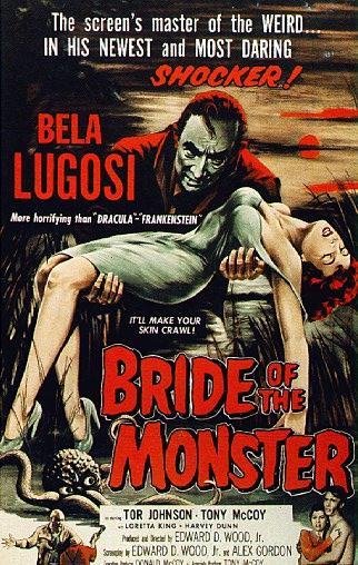 DVD Review: Bride of the Monster (1955), Starring Bela Lugosi