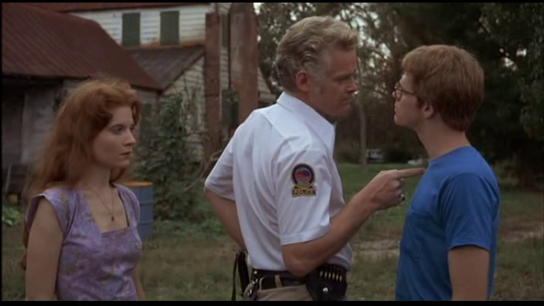 Reveiw: Squirm (1976) The Local Sheriff Does a Good Job of Showing He's a Dick