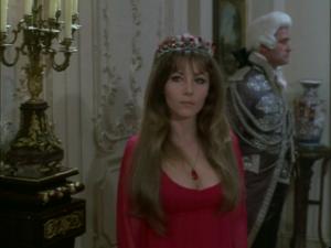 Ingrid Pitt as, Vampire, Marcilla, in The Vampire Lovers (1970)