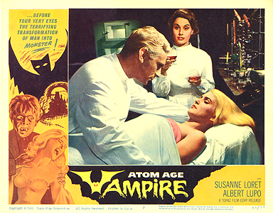 Public Domain Movie: Atom Age Vampire (1960)