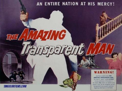 Public Domain Movie Review: The Amazing Transparent Man (1960)