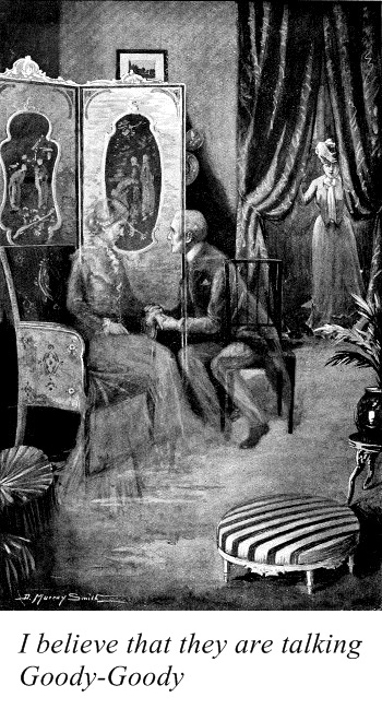 Illustration by D. Murray Smith(for the story A Happy Release by Sabine Baring-Gould