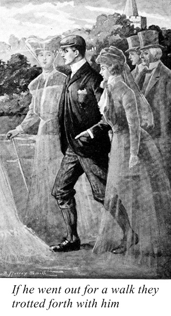 Illustration by D. Murray Smith(for the story A Professional Secret by Sabine Baring-Gould