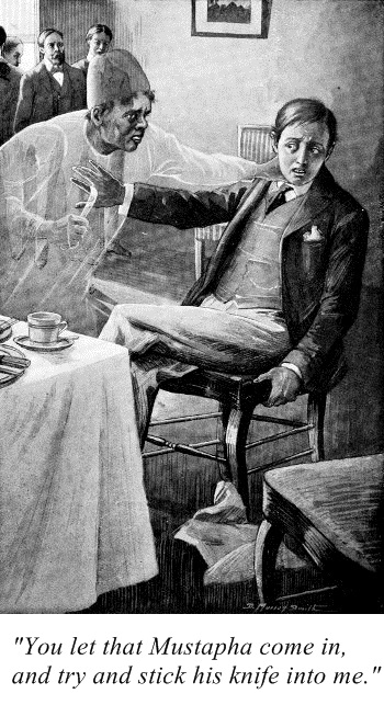 Illustration by D. Murray Smith (for the story Mustapha by Sabine Baring-Gould)