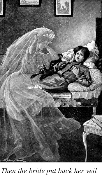 Illustration by D. Murray Smith (for the story Pomps and Vanities by Sabine Baring-Gould