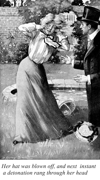 Illustration by D. Murray Smith (for the story Leaden Ring by Sabine Baring-Gould)