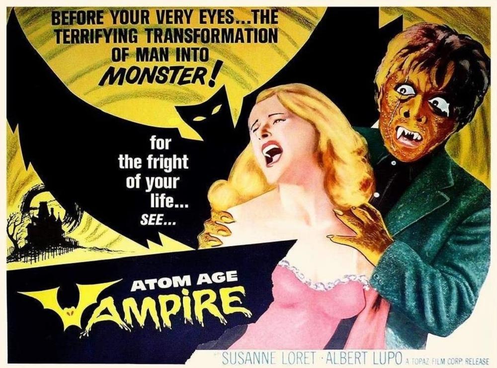Atom Age Vampire (1960) Film Poster