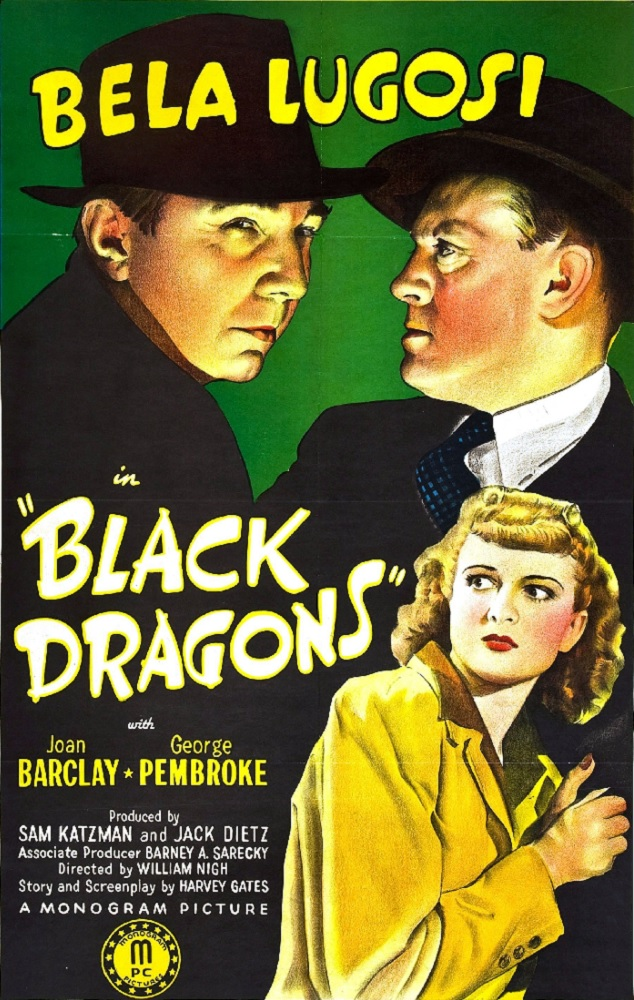 Bela Lugosi in Black Dragons (Movie Poster)