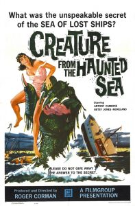 Creature from the Haunted Sea | Movie Poster