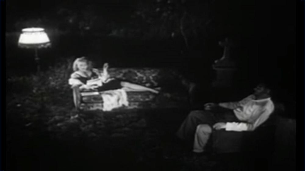 Cemetery Scene | Daughter of Horror (1955)