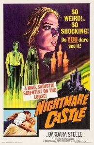 Nightmare Castle Movie Poster