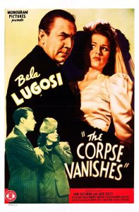 The Corpse Vanishes - Film Poster with Bela Lugosi