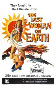 The Last Woman on Earth Movie Poster