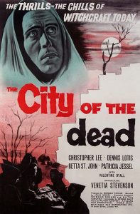 City of the Dead (aka Horror Hotel) Movie Poster