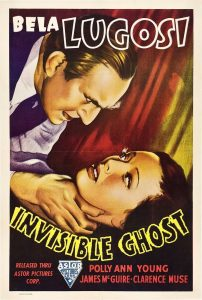 Bela Lugosi/Invisible Ghost Movie Poster