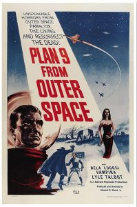 Plan 9 from Outer Space (Movie Poster)
