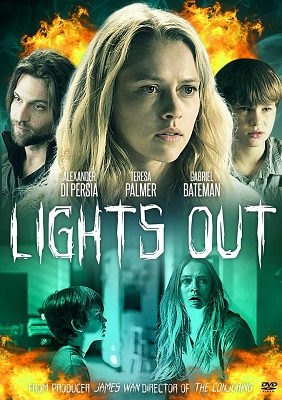 Movie Review: Lights Out (2016) Starring Teresa Palmer and Maria Bello