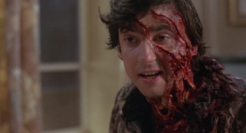 Grinnin Dunne as werewolf victim Jack Goodman in An American Werewolf in Londin (1981)