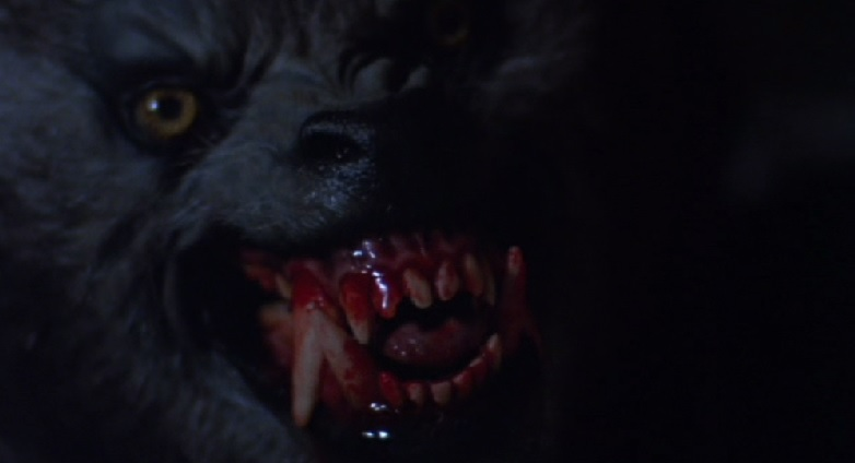 An American Werewolf Bares his Teeth