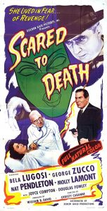 Bela Lugosi in Scared to Death (Movie Poster)