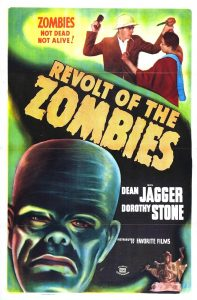 Revolt of the Zombies (Movie Poster)