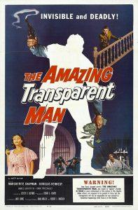 The Amazing Transparent Man Movie Poster