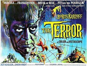 The Terror (Movie Poster Featuring Boris Karloff