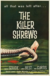 Attack of the Killer Shrews (Movie Poster)
