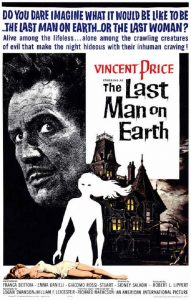 The Last Man on Earth (Movie Poster Featuring Vincent Price)