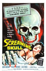 The Screaming Skull (Movie Poster)
