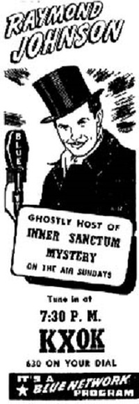 Inner Sanctum Mysteries: Radio Show Episode List and Information