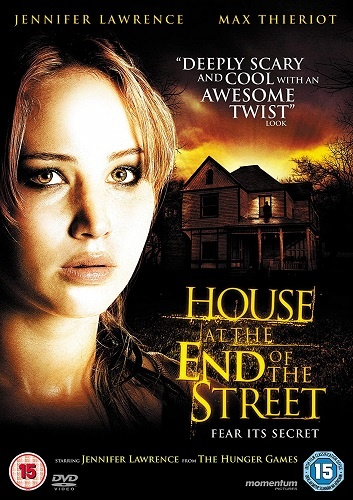 House at the End of the Street (DVD Cover Showing Picture of Jennifer Lawrence)