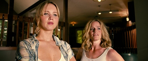 Jennifer Lawrence and Elisabeth Shue in a Scene from House at the End of the Street (2012)