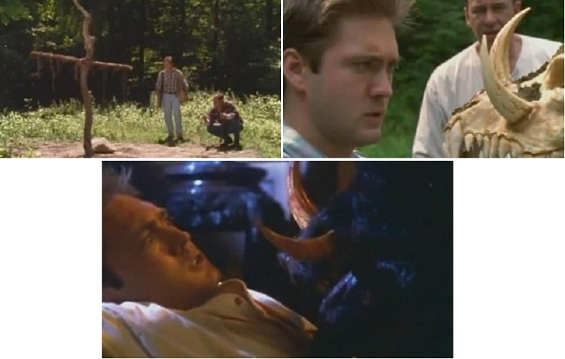 Scenes from In the Woods (1999 Horror Movie)