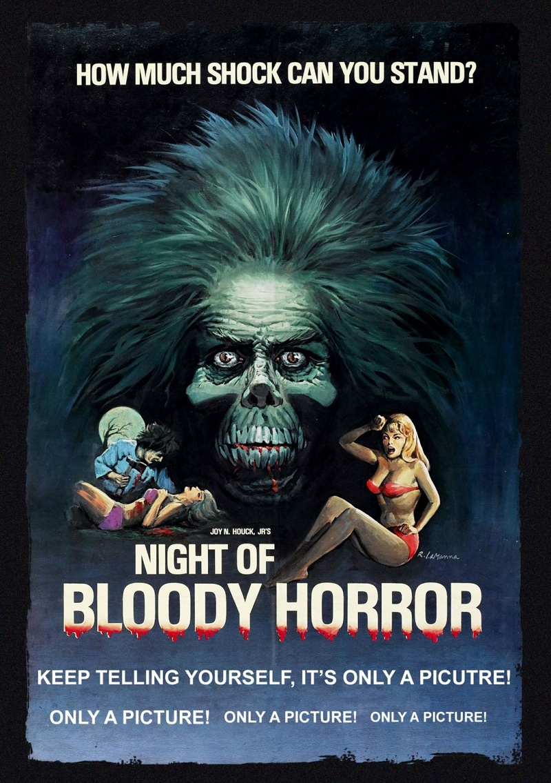 Night of Bloody Horror (Movie Poster)